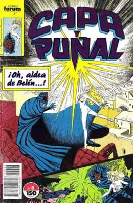 Capa y Puñal Vol. 1 / Marvel Two in One: Capa y Puñal & La Cosa (1989-1991) (Grapa 24-64 pp) #8