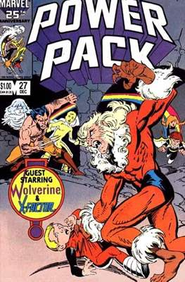 Power Pack (1984-1991; 2017) (Grapa) #27