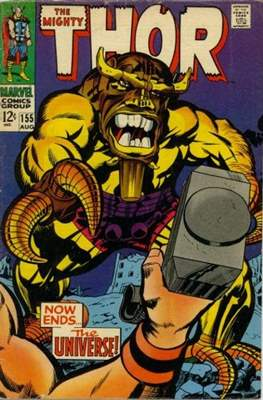 Journey into Mystery / Thor Vol 1 (Comic Book) #155