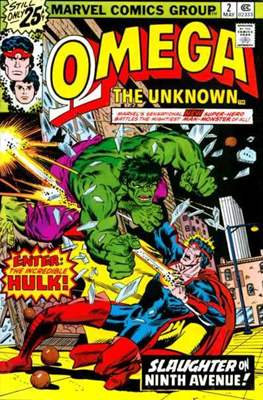 Omega The Unknown (Comic Book. 1976 - 1977) #2