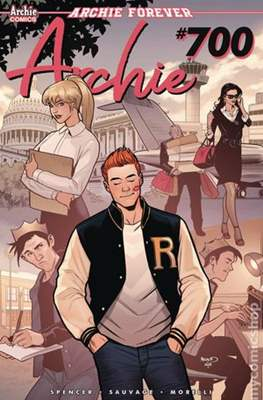 Archie (2015- Variant Cover) (Comic Book) #700.7