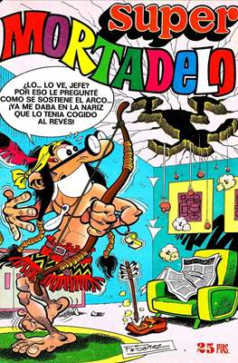 Mortadelo (2ª etapa) / Super Mortadelo (Grapa) #38