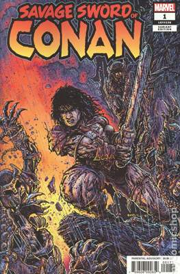Savage Sword Of Conan (2019- Variant Cover)