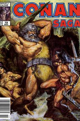Conan Saga (Comic-book) #19
