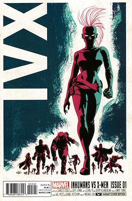 Inhumans vs. X-Men (Variant Cover) (Comic Book) #1