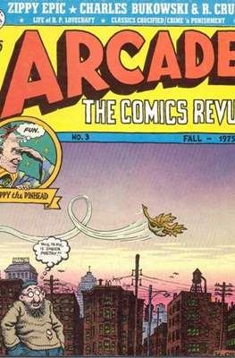 Arcade: The Comics Revue (grapa) #3