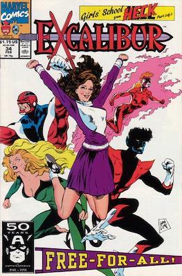 Excalibur Vol. 1 (Comic Book) #34