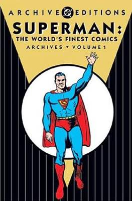 DC Archive Editions. Superman: The World's Finest Comics (Hardcover) #1