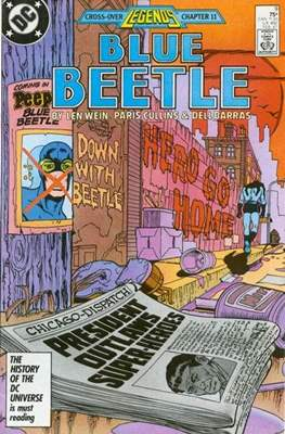 Blue Beetle Vol. 1 #9