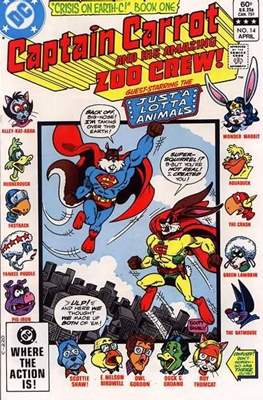 Captain Carrot and his amazing Zoo Crew (Comic Book) #14
