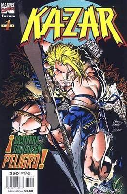 Ka-Zar (1998-1999) (Grapa. 17x26. 24 páginas. Color.) #1