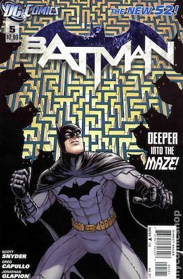 Batman Vol. 2 (2011-2016 Variant Covers) (Comic Book) #5