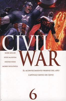 Civil War (2007) (Grapa) #6