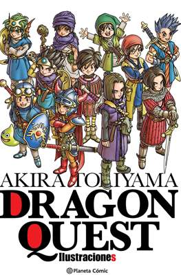 Dragon Quest - Ilustraciones