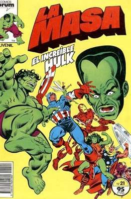 La Masa. El Increíble Hulk (Grapa 36-32 pp) #21