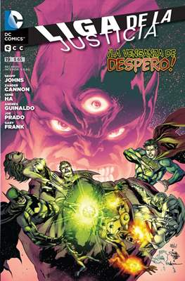 Liga de la Justicia (Grapa) #19