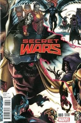 Secret Wars (2015) Variant Covers (Comic Book) #3.1