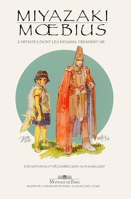 Miyazaki - Moebius. 2 artistes dont les dessins prennent vie