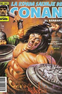 La Espada Salvaje de Conan. Vol 1 (1982-1996) (Grapa. B/N.) #136