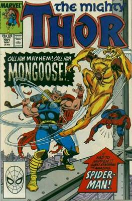 Journey into Mystery / Thor Vol 1 (Comic Book) #391