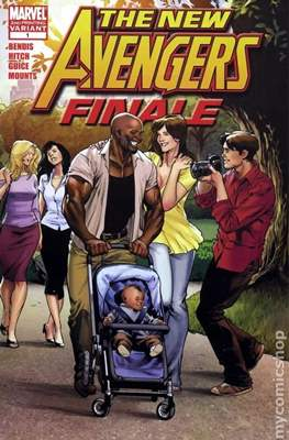 The New Avengers: Finale (Comic-book) #1