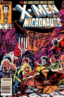 X-Men and the Micronauts (Comic Book) #3