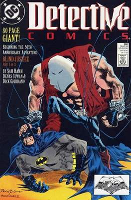 Detective Comics Vol. 1 (1937-2011; 2016-) (Comic Book) #598
