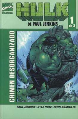 Hulk de Paul Jenkins (2004) (Rústica. 17x26. Color.) #1