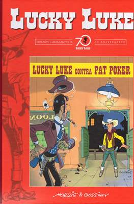 Lucky Luke. Edición coleccionista 70 aniversario (Cartoné con lomo de tela, 56 páginas) #30