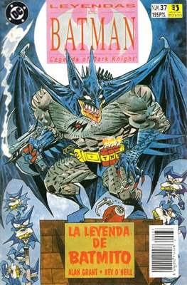 Leyendas de Batman. Legends of the Dark Knight (Grapa) #37
