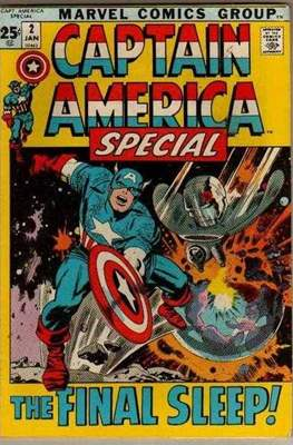Captain America Vol. 1 Annual (1971-1994) #2