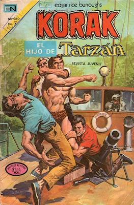 Korak, el hijo de Tarzán (Grapa 36 pp) #19