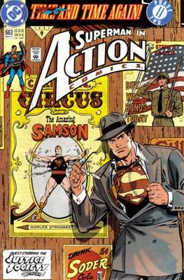Action Comics Vol. 1 (1938-2011; 2016-) (Comic Book) #663