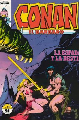 Conan el Bárbaro (1983-1994) (Grapa. 19x27. 36/32/24 páginas. Color.) #51