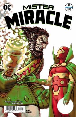 Mister Miracle (Vol. 4, 2017- 2018) #9