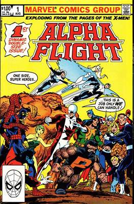 Alpha Flight Vol. 1 (1983-1994) #1