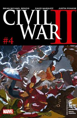 Civil War II (Rústica) #4