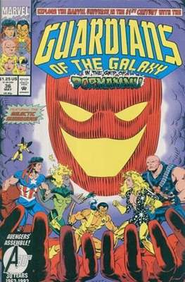 Guardians of the Galaxy Vol 1 (Comic Book) #36