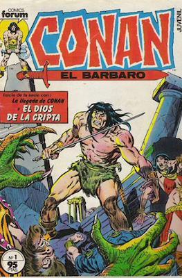 Conan el Bárbaro (1983-1994) (Grapa. 19x27. 36/32/24 páginas. Color.) #1