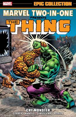 Marvel Two-in-One Epic Collection (Softcover) #1