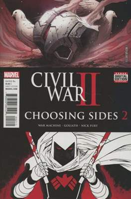 Civil War II: Choosing Sides (Comic Book) #2
