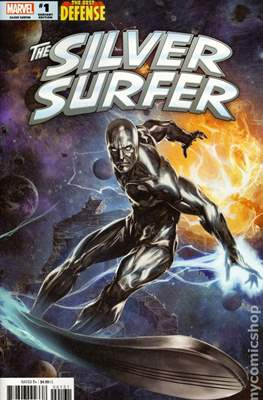 The Silver Surfer: The Best Defense (Variant Cover) #1.1