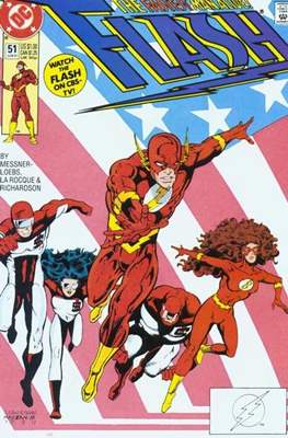 The Flash Vol. 2 (1987-2006) (Comic Book) #51