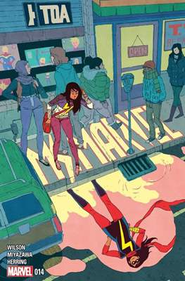 Ms. Marvel (Vol. 3 2014-2015) (Grapa) #14