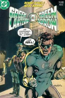 Green Lantern / Green Arrow (Comic Book.) #6