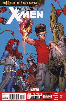 Wolverine and the X-Men Vol. 1 #31