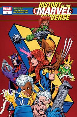 History of the Marvel Universe (Comic Book 44 pp) #5