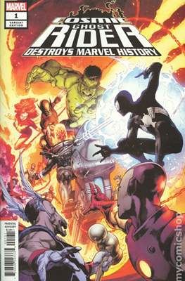 Cosmic Ghost Rider Destroys Marvel History (2019 - Variant Cover) (Comic Book) #1.3