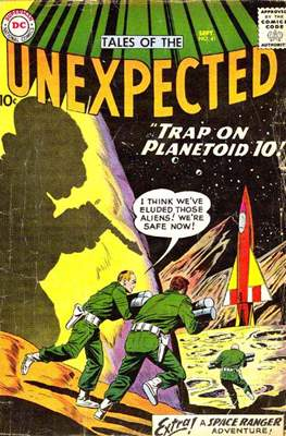 Tales of the Unexpected (1956-1968) (Comic Book) #41