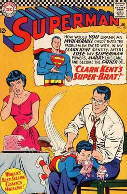 Superman Vol. 1 / Adventures of Superman Vol. 1 (1939-2011) (Comic Book) #192